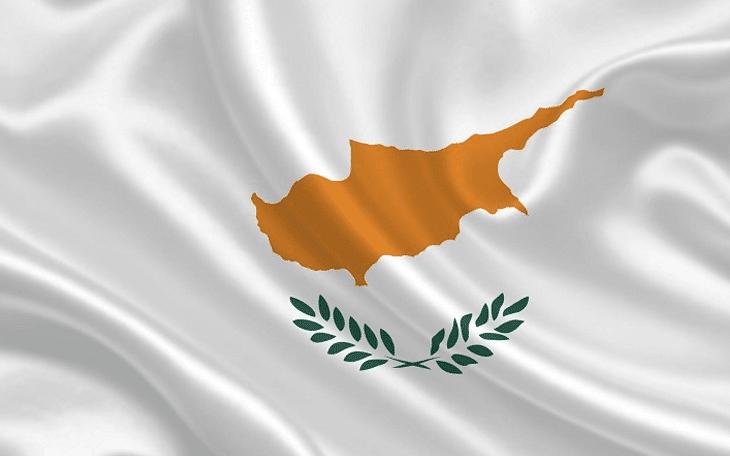 Cyprus golden passport visa and the flag of Cyprus