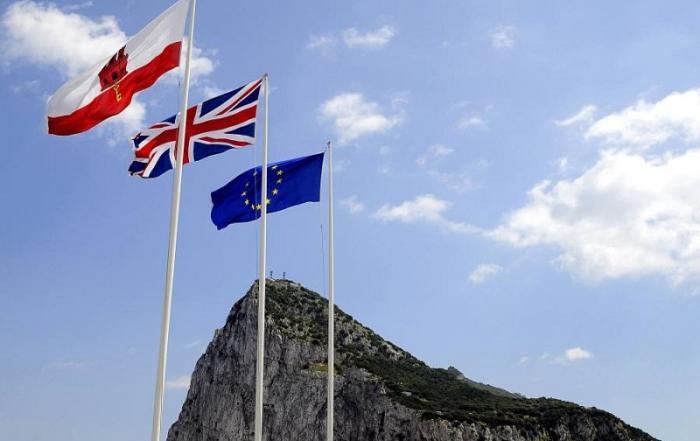Gibraltar EU UK flags crypto