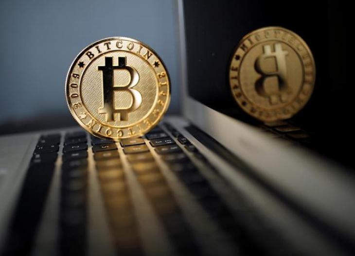 Bitcoin on laptop US