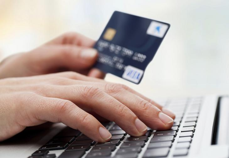 Payments with debit card online.