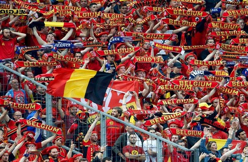 Belgium taxing flag showing.