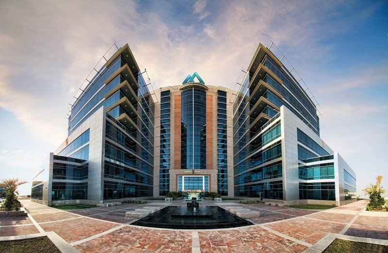 The headquarter of RAKEZ, UAE